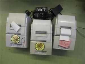 Epson Tm h6000ii Pos Thermal Receipt Printer M147c Lot Of 3 W power Supply