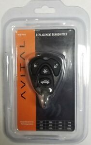 Avital 7143l 4 Button Replacement Transmitter In Original Blister Pack