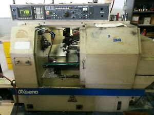 1996 Miyano Bnc 34s Sub Spindle Fanuc 0 tc Part Chip Conveyors Cnc Lathe Tooling
