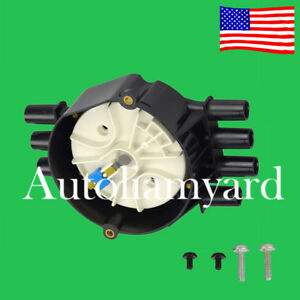 Ignition Distributor Cap Rotor For Chevy Gmc Oldsmobile V6 4 3l Vortec 10452458