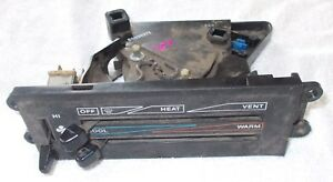 Off Oem 87 Thru 93 Jeep Wrangler Yj Heater Vent Dash Assembly Nice Condition
