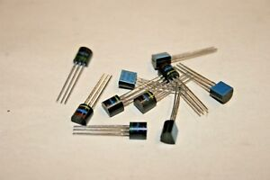 10 Pack Mps3638 Pnp Silicon Transistor 500ma 25v 101 463