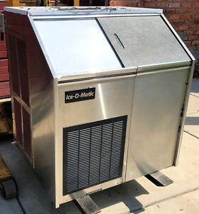 Ice o matic Ef250a32s Undercounter Ice Maker Air Cool400lbsday W Bin Free Ship