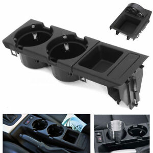 Center Console Drink Cup Holder Coin Storing Box For Bmw E46 3 Series 1999 2006