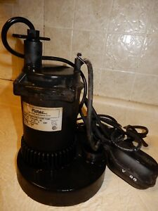 Flotec Submersible Sump Utility Pump Model Fpos2400a 1 3 Hp Used 7