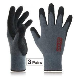 Dex Fit Fleece Winter Work Gloves Nr450 Comfort Warm Power Grip Durable