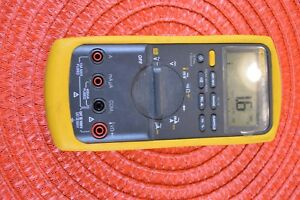 Fluke 87v True Rms Multimeter With Leads Excellent Condition