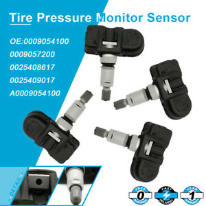 4pc Oem Tire Pressure Sensor Tpms For Mercedes benz Gl550 Glk350 Ml350 R350 S350
