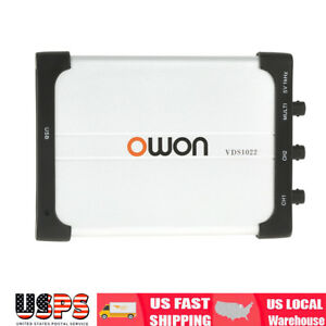Owon Vds1022 Usb Isolation Pc Digital Storage Oscilloscope 25mhz 2 1 Ch 100ms s