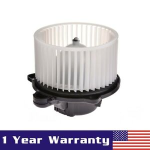 Heater Blower Motor W Fan Cage For 2003 2004 2005 2006 Hyundai Accent Oe 700133