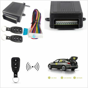 Car Remote Control Central Kit Door Lock Anti theft Keyless Entry System