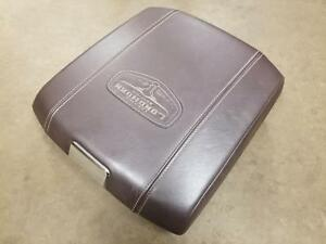 09 18 Dodge Ram Laramie Longhorn Center Console Lid W Power Outlet Canyon Brown
