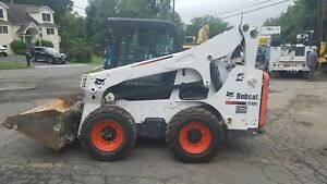 Bobcat S 750 Turbo Cab Heat Ac Hand Foot Contr deluxe Display Monitor