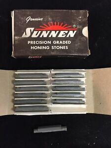 Sunnen Honing Stones Y12j85 Silicon Carbide 400 Grit Pack Of 12