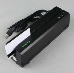 Msr605 Magnetic Stripe Credit Card Readerwriter Encoder Swipe Magstripe Msr206