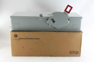 Ge Th3363 Spec setter 100 Amp Heavy Duty Fusible Disconnect Safety Switch New