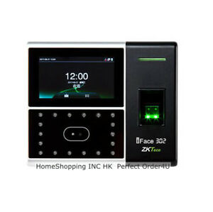 Usa Zkteco Biometric Face fingerprint Attendance Time Clock Access Control Top