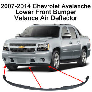 Front Bumper Air Dam For 2007 2008 2009 2010 2011 2012 2013 2014 Avalanche