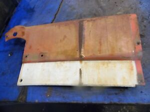 1974 Farmall 966 Diesel Farm Tractor Right Dash Cover nice