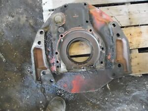 1974 Farmall 966 Diesel Farm Tractor Rear Engine Plate