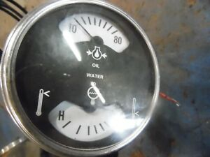 1974 Farmall 966 Diesel Farm Tractor Oil Temperature Gauge