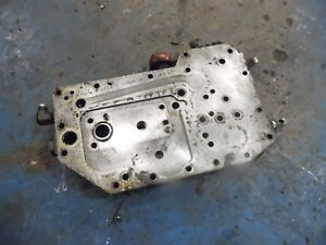 1974 Farmall 966 Diesel Farm Tractor Power Steering Pump Plate