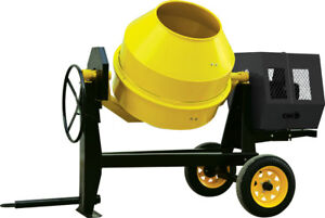 13 Cub Cement Mixer With Electric Starter 13hp Gasoline Engline