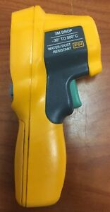 Used Fluke 62 Max Ir Thermometer Ip 54 3m Drop 30 To 500c