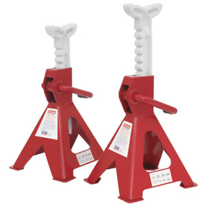Vs2002 Sealey Axle Stands 2tonne Capacity Per Stand 4tonne Per Pair Ratchet Type