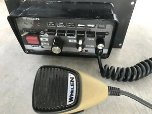 Whelen 295hfsa5 Lightbar Pa Horn Control Center With Microphone 200w