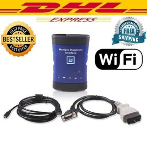Gm Mdi Multiple Diagnostic Interface Tool Wifi New Scanner Ecu Dhl Shipping