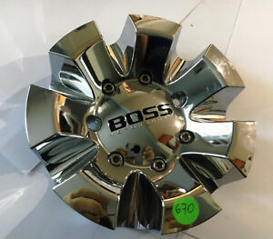 Boss Motorsports Wheel Chrome Center Cap 3237 Made In Korea
