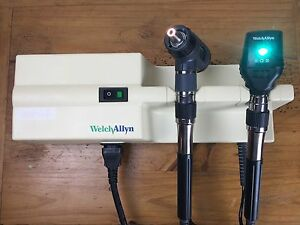 Welch Allyn 767 Transformer Macroview 23820 Ophthalmoscope 11720 Diagnostic Set