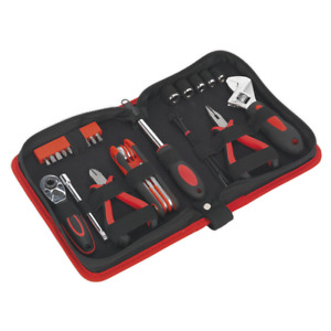 Ms164 Sealey Motorcycle Toolkit Underseat 28pc Service Tools