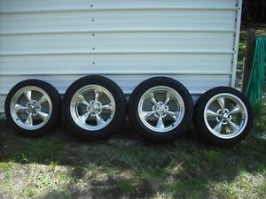 Set Of American Racing Wheels And Tires 17 Inch