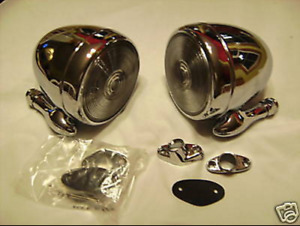 Stainless Steel Tear Drop Dummy Spots 2 Lead Sled Bomber Cool Custom Rat Rod