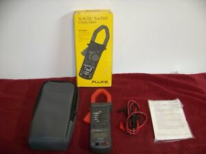 Fluke 36 Electrical Testing 600 V True Rms Ac dc Voltage Digital Clamp On Meter