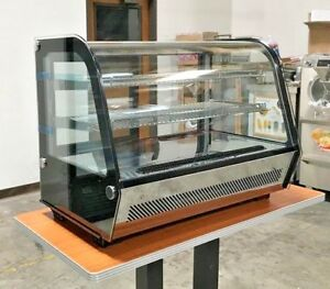 Countertop Refrigerated Display Case Show Bakery Pastry Deli Case