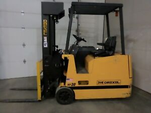 Drexel Slt30r Swing Mast Forklift 258 Inch Lift With Wire Guidance System