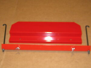 Ih International 284 Diesel Tractor Battery Box Lid Hold down And J bolt Kit 2