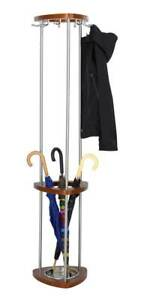 Mode Wood Costumer W Umbrella Rack In Cherry Finish id 102574