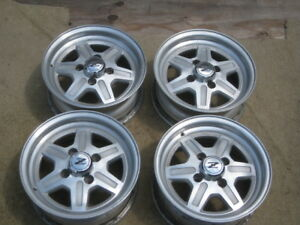 Datsun 280zx Wheels With Center Caps Set Of 4 1979 1983