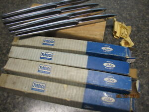 1964 Comet Nos Fender Spear Emblems Set Of 4 Brand New Fomoco