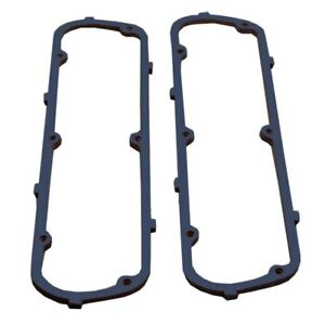 Blue Valve Cover Gasket Set Cork With Steel Core For Early Sbf Ford Valve Covers