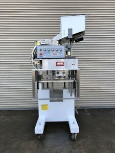Kaps All E4 Inline Bottle Capper 4 Quill Capping Machine