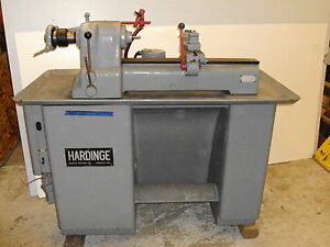 Hardinge Dsv59 8 Speed Precision Metal Lathe With Collets W Coolant System