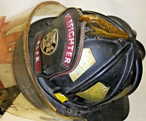 Morning Pride Ben Franklin Firefighter Helmet W Face Shield Model 92ar