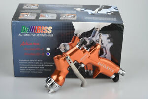 Devilbiss Advanced Hd 2 Spray Gun Gravity Feed 1 3mm Topcoat Touch up Paint