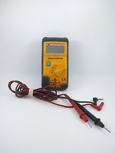 Uei Dm383b Hvac Digital Multimeter Meter Tester W Leads