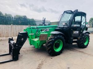 Telehandler Jcb 2014 Repainted 2840 Hours With New Tyres